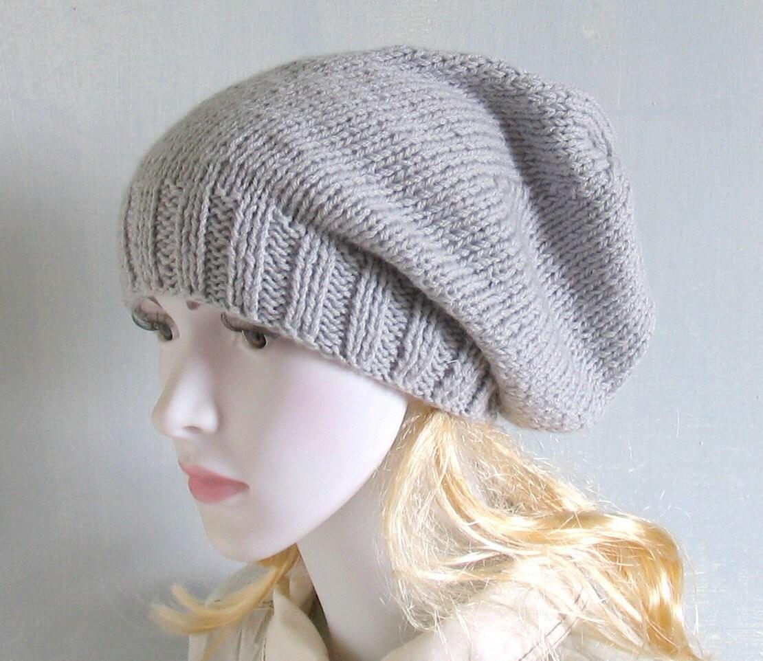 knit slouchy beanie hat slouch beanie