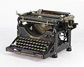 Vintage Typewriter, Underwood No 5 Typewriter, Old Typewriter, Typewriter, Found Typewriter