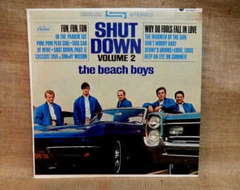 The BEACH BOYS - Shut Down - 1964 Vintage Vinyl Record Album