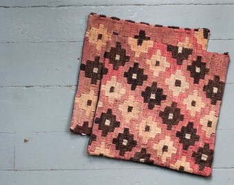 Turkish Kilim pillow - The One and The Two