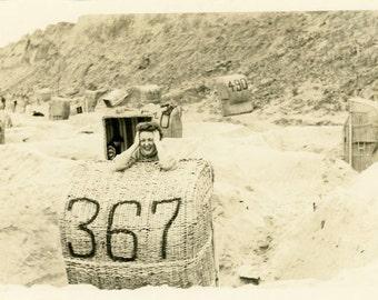 "Vintage Photo ""She Wanted 368"" Snapshot Photo Old Antique Photo Black & White Photograph Found Photo Paper Ephemera Vernacular - 135"