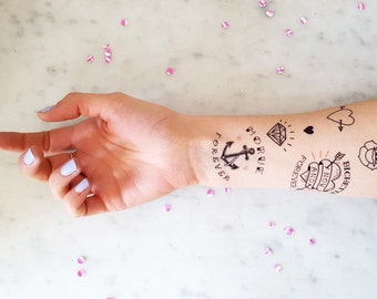 9 Temporary Tattoos for my bestfriends
