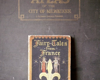Vintage Children's Book - Fairy Tales From France - Illustrated by John Rae