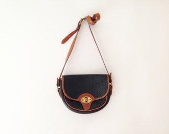 1980s Cavalry Trooper Dooney and Bourke saddlebag purse