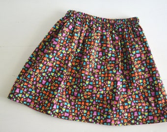 Girls Skirt - Toddler Skirt - Girls Clothing - floral skirt - spring and summer fashion