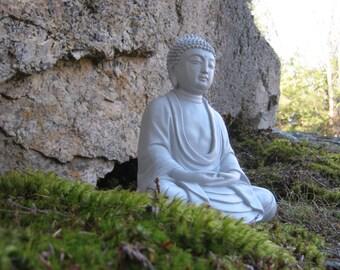 Buddha Statue Meditating, Buddhist Concrete Statues, Oriental Cement Garden Figurine, Buddhas