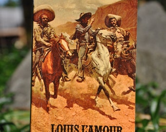 Catlow by Louis L'amour Paper back book 1977, western, Bantam Books