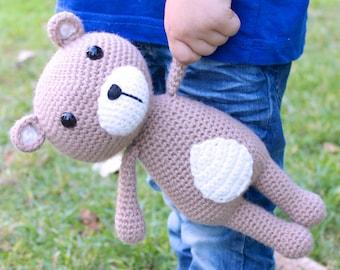 Crochet pattern - Vinnie, the teddy bear by Tremendu - amigurumi crochet toy, PDF digital pattern