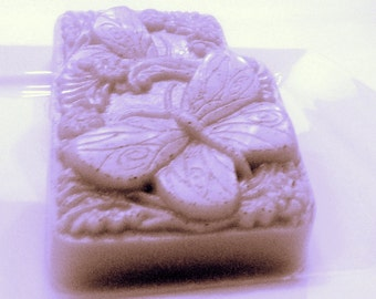 Butterfly Soap - Sundrenched Vineyard Scent - Grape, Fruit Butterflies Soap - Mothers Day Gift - Novelty Soap - Homemade Soap - Bar Soap