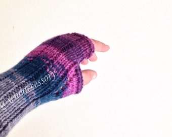 Knit Fingerless Gloves Knitted Gloves Women Gloves Winter Accessories Knit Gloves Mittens /gifts for her / senoaccessory
