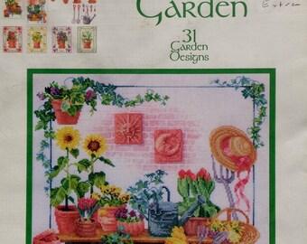 Donna Vermillion | Giampa Stitchery | CELESTIAL GARDEN | 31 Designs | Counted Cross Stitch Pattern
