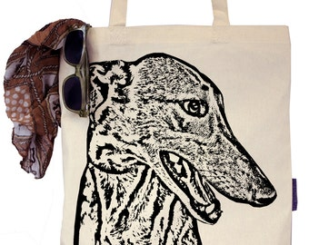 Wylie the Greyhound - Eco-Friendly Tote Bag