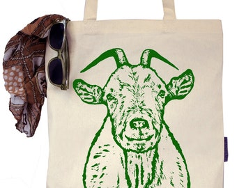 Walter the Goat - Eco-Friendly Tote Bag