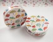Umbrellas Aimez le style Washi Tape (7M) - 5038