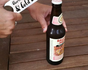 Custom Personalized Steel Bottle Opener Groomsman Anniversary Wedding Favors Gifts