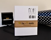 Personalized Notepad, Piano Note NOTEPAD