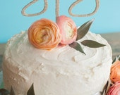 YAY cake topper for weddings, birthdays or baby showers