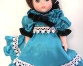 Vintage Doll,Ginny,Vouge Dolls Inc. Porcelain Doll,Small Doll