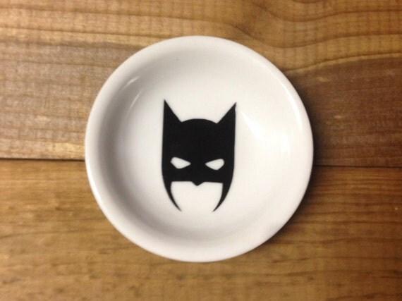 Ring Dish | Batman | Dark Knight | Trinket Dish | Ring Holder | Engagement Gift