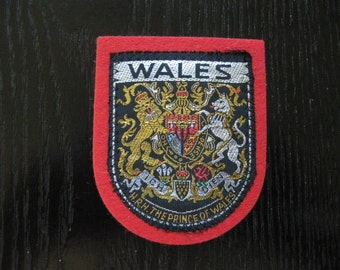 Embroided Wales Patch