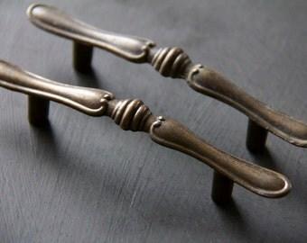 Rustic Vintage Decorative Drawer Pulls Set of 2