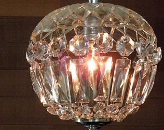 Vintage Chandelier Antique Crystal Chandelier Versatile Size Sparkling Petite Perfection Possible Pair