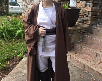 Star Wars inspired Jedi Robe Adult Costume - Made to Order