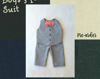 Ring Bearer Outfit, Baby Boy, Toddler Boy, Ring Boy, Baby Suit, Toddler Suit, Special Occasion, Dress Up Clothes, Boy Outfit, Infant Suit