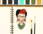 Frida Kahlo Iron on patch