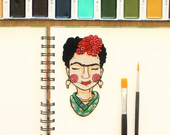 Frida Kahlo Iron on patch