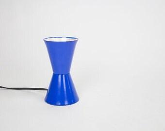 Mid Century Desk Lamp / Mid Century Lamp / Mid Century Task Lamp / Vintage Lamp / Vintage Light / Mid Century Task Light / Blue Lamp