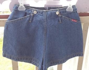 Vintage Denim Ladies '80's Shorts by MJ Blue/New York, size 7-8