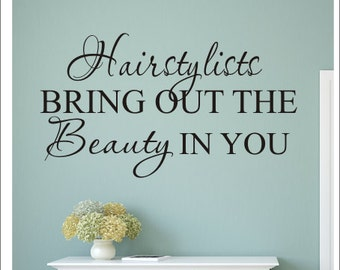 Beauty Salon Quote Etsy