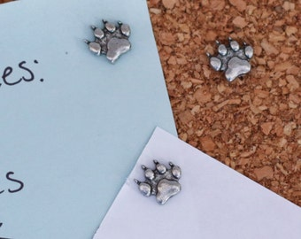Wolf Track Pushpins For Your Corkboard
