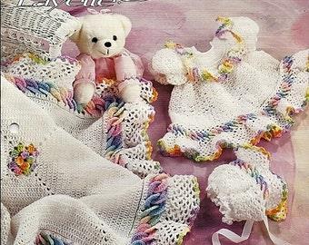 Baby Rings Layette  / Crochet Pattern Book / Annies Attic 279B