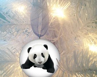Panda Bear #5 Christmas Tree Ornament