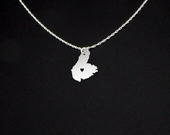 Cape Breton Island Necklace - Cape Breton Jewelry - Cape Breton Gift