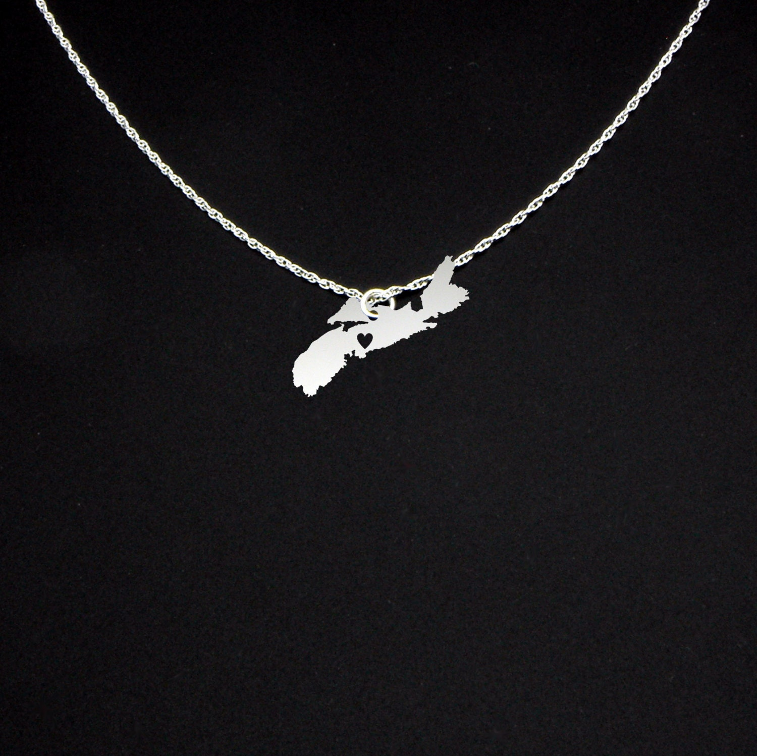 nova scotia necklace nova scotia jewelry nova scotia gift