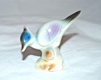Little Bluejay Porcelain Figurine 1960s