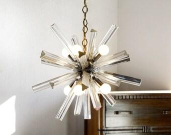 1960s Murano Sputnik Hanging Pendant Light