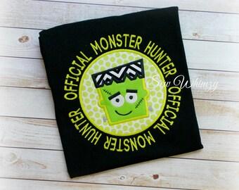 Frankenstein shirt- Halloween shirt- monster shirt