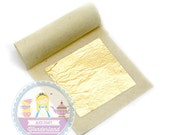 100% Edible Gold Leaf Loose Sheets 24k Cake Cupcake Topping Decoration