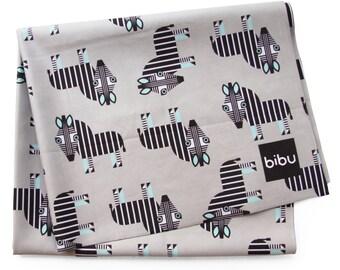 Zebra Microfiber Towel