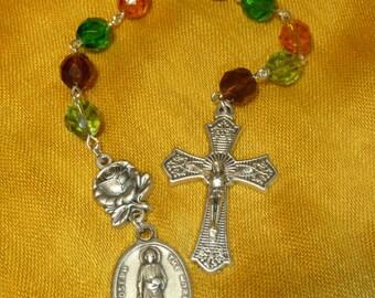 St. Joseph The Worker Chaplet~FREE U.S. Shipping