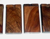 Custom Dugout with self cleaning one hitter  Burred Walnut