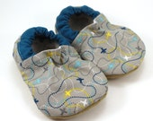 airplane shoes baby boy shoes grey shoes airplane slippers soft sole shoes grey and blue booties toddler shoes toddler boy airplane clothing