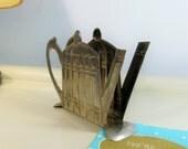 Vintage Metal Teapot Serviette   Napkin Holder