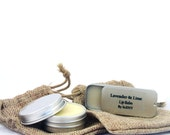 Lip Balms organic oils in slider tins and pouch