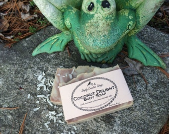 Coconut Delight Soap - Creamy with Coconut Water and Tussah Silk