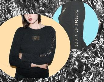 90s Metallic Tommy Hilfiger Shirt
